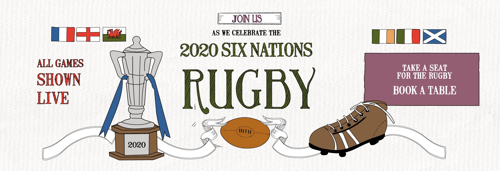 Six Nations at The Bull