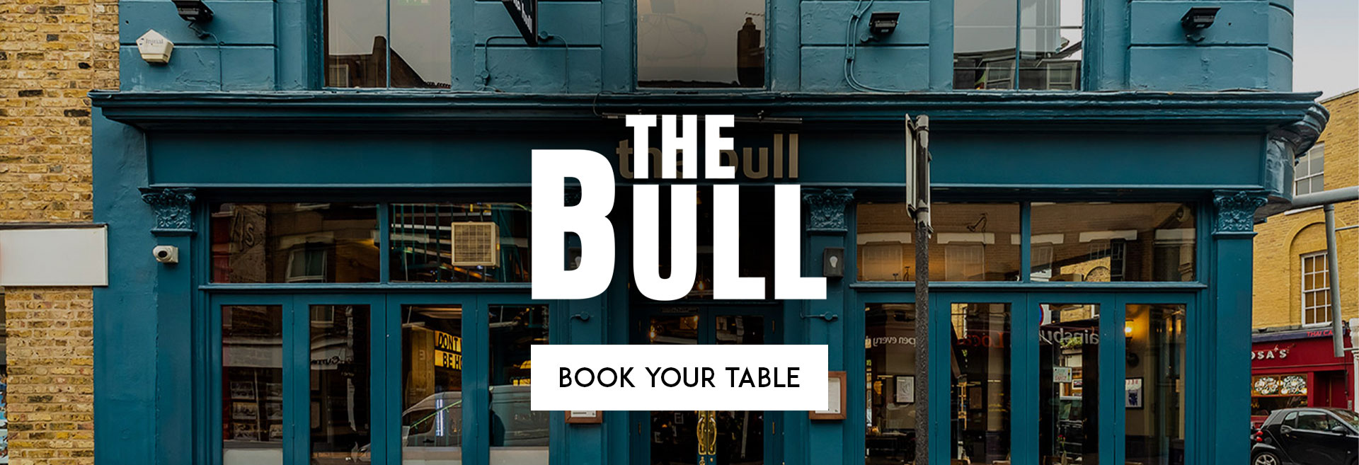 Book Your Table The Bull
